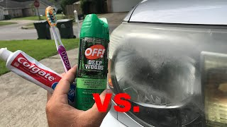 Download The TRUTH about OFF & Toothpaste vs Headlights! (+Update on WD 40) Video