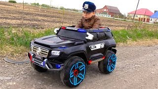 Download POLICE BABY Pretend Play with Police Cars Unboxing and Playing with TOYS Video