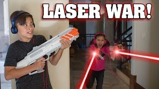 Download RECOIL LASER TAG WAR!!! Video Game Brought to Life! Video