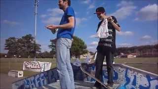 Download Skatepark Ayguesvives Best Tricks Contest ASC Aurelien Machu Video