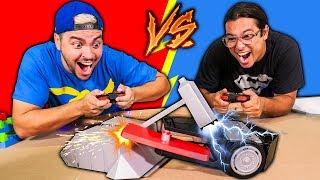 Download BATALHA DE ROBÔS !!! (LUCCAS NETO vs RONI) Video