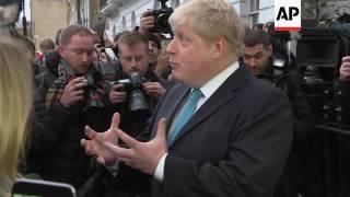 Download London Mayor Boris Johnson to back Brexit Video