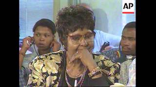 Download SOUTH AFRICA: ANC MAY NOMINATE WINNIE MANDELA AS DEPUTY PRESIDENT Video