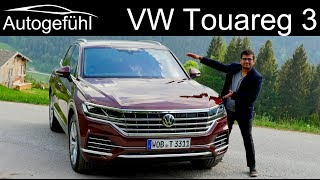 Download VW Touareg 3 FULL REVIEW driving 2019 Volkswagen Touareg III - Autogefühl Video