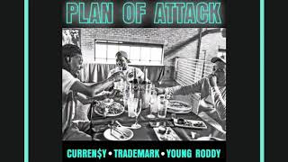 Download Curren$y x Trademark Da Skydiver x Young Roddy ″Plan Of Attack″ Video