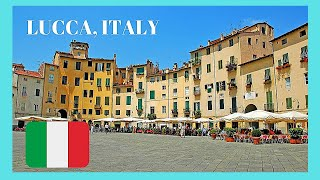 Download LUCCA, the most beautiful and historic city in TUSCANY (ITALY), top attractions Video