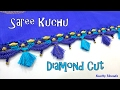 Download How to make Saree Kuchu - Diamond Cut Design using Silk Thread at Home| Tutorial !! Video