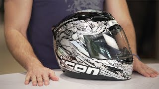 Download ICON Airmada Mechanica Helmet Review at RevZilla Video
