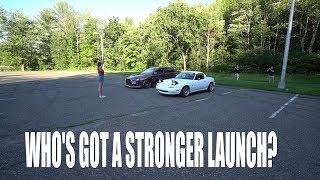 Download Evo 10 V.s.Turbo Miata Launch! Video