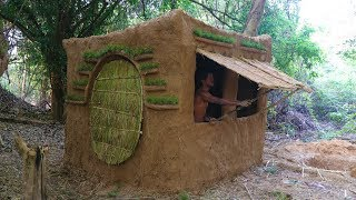 Download Primitive Tool : Update Mud House ( Build Door and window ) Video