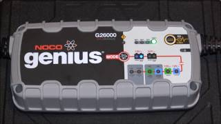 Download Car Audio Responsibilities NOCO Genius G26000 Charger In Action/ Unboxing Video