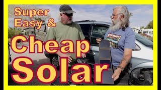 Download Super Easy and Cheap Solar USB Powered Products Video