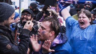 Download Icelandic football fans go CRAZY after 1-1 vs Argentina in the World Cup! - 4K Video