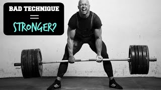 Download Use BAD Technique To Get STRONGER!? (Ft. Greg Nuckols) Video