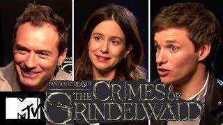 Download Fantastic Beasts 2 Cast Reveal Alternate Ending & Deleted Prof. McGonagall Scenes | MTV Movies Video
