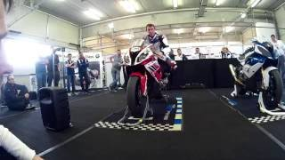 Download Troy Corser explains: Body position and riding techniques Video