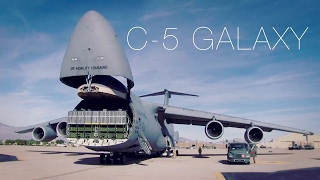 Download The Largest Plane In The Air Force – C-5 Galaxy Cargo Loading Video