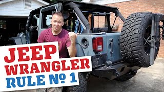 Download Rule No.1 For Jeep Wrangler Owners... Video