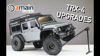 Download Simple Traxxas TRX-4 Upgrades to Boost Performance Video