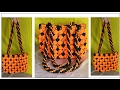 Download Easy & Simple Macrame Bag Tutorial Purse | Design #2 watch full video HD Tutorial Video