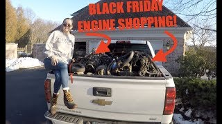 Download I GOT 2 NEW ENGINES while Black Friday SHOPPING!!!! Video