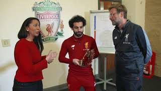 Download Liverpool's Mohamed Salah announced as 2017 BBC African Footballer of the Year Video
