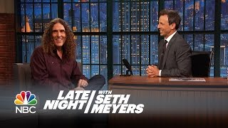 Download How Weird Al Found Out His Album Was Number 1 - Late Night with Seth Meyers Video