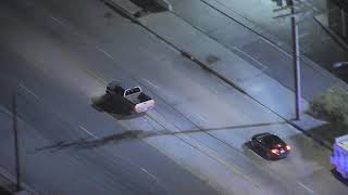 Download 02/07/19: Car Chase Suspect Flees Moving Truck - Unedited Video