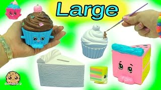 Download Big Large Inspired Shopkins Made From Cupcake & Cake Slice DIY Painting Craft Kit + Clay Video