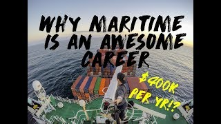 Download 10 Reason why Maritime is AWESOME ( And such a great career! earn 400k USD per year!? ) Video