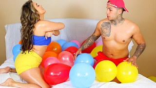 Download STRIP BALLOON CHALLENGE PRANK!! Video