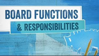 Download Startup Boards: Board Functions and Responsibilities Video