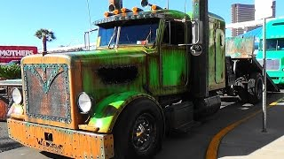 Download Welderup Rat Rod Peterbilt ″Swamp A**″ SEMA 2015 Video