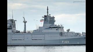 Download Fregatte NORDRHEIN-WESTFALEN (F 223) in Wilhelmshaven Video