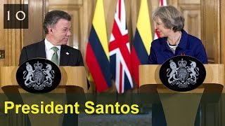 Download PM and President Santos: joint press conference Video
