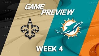 Download New Orleans Saints vs. Miami Dolphins | Week 4 Game Preview | NFL International Series Video