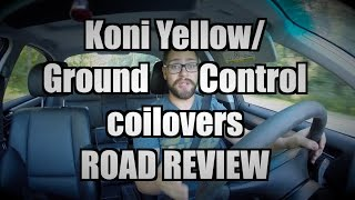 Download Koni Yellow Shocks with Ground Control Coilovers REVIEW Video