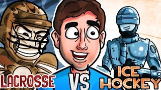Download LACROSSE vs. ICE HOCKEY | Bad British Commentary Video