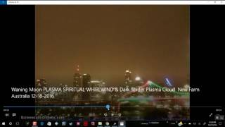 Download Strong magnetic field of Nibiru warps light in front of camera in Australia 12/27/2016 Video
