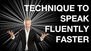 Download The Secret Technique To Speak Fluently Faster Video