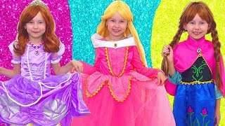 Download Alice Smile together with Princesses going to a birthday Video
