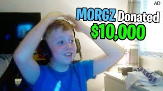 Download I Donated $10,000 to a 9 Year Old Kid Streaming Fortnite... Video
