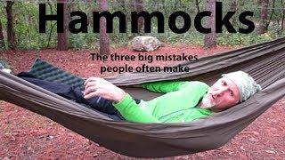 Download HAMMOCKS - The three big mistakes people often make Video