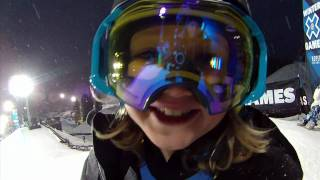 Download 11yr Old Boy Aspen Spora X Games Superpipe Sessions Contour Video