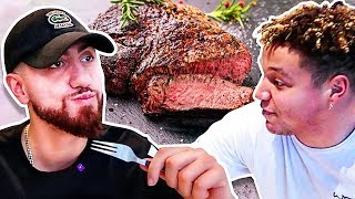 Download Who Can Cook The Perfect Steak?! *TEAM ALBOE COOK OFF CHALLENGE* Video
