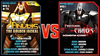 Download Real Steel WRB ANUBIS VS Cardinal Chaos NEW Robot updating (Живая Сталь) Video