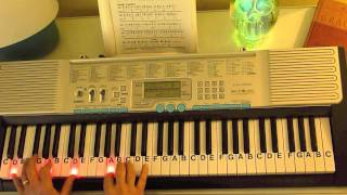 Download How to Play ~ Here I Am to Worship - Key of G ~ Hillsong United ~ LetterNotePlayer © Video