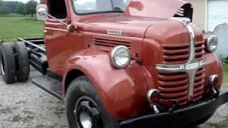 Download 1947 Dodge WJ-57 Truck Video