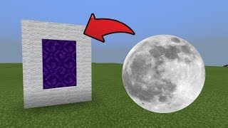 Download How To Make a Portal to the Moon Dimension in MCPE (Minecraft PE) Video