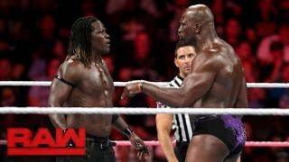 Download R-Truth vs. Titus O'Neil: Raw, Oct. 10, 2016 Video